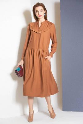 Платье Ivera 718 рыжий