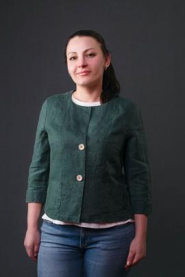 Жакет Bright Style 507 зелёный