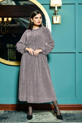 Платье Faufilure outlet С1020 серебро