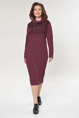 Платье Faufilure outlet С882 фиолет