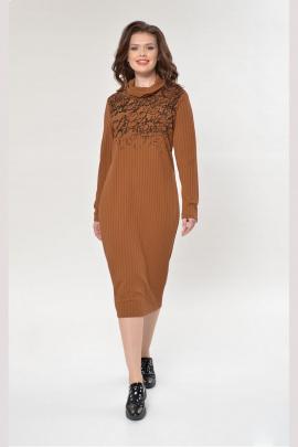 Платье Faufilure outlet С882 горчица
