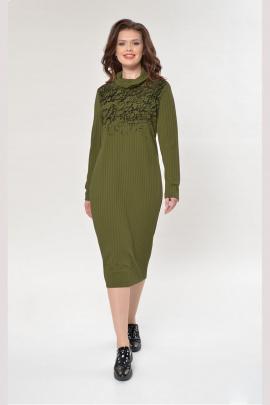 Платье Faufilure outlet С882 олива