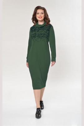 Платье Faufilure outlet С882 зеленый