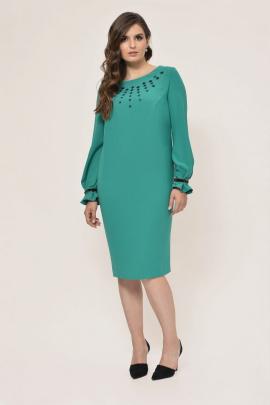 Платье Faufilure outlet С888 зеленый