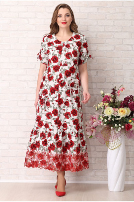 Платье Aira Style 739 розы