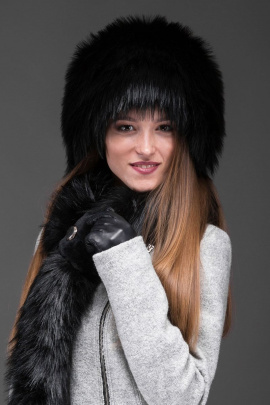 Шапка Зима Фэшн 021-4-29 черный