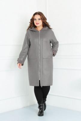 Пальто Diamant 1449 серый