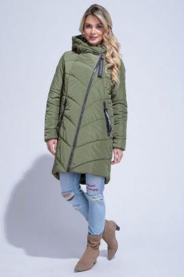 Пальто ElectraStyle 3у-7101/1-112 олива