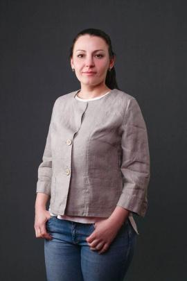 Жакет Bright Style 507 серый