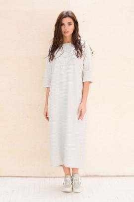 Платье Faufilure С1047 серый