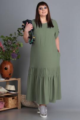 Платье Algranda by Новелла Шарм А3461-олива