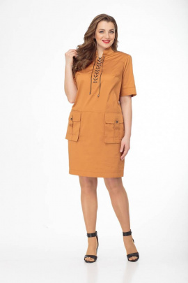 Платье Gold Style 2410 облепиха