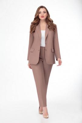 Женский костюм Gold Style 2289 светло-коричневый