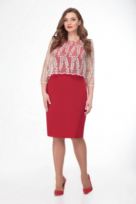 Платье Gold Style 2378 красный