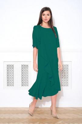Платье Faufilure С1048 изумруд