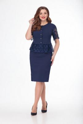 Женский костюм Anelli 750 синий