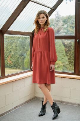 Платье Fantazia Mod 3546 терракот
