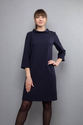 Платье Mita ЖМ1017 синее