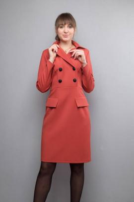 Платье Mita ЖМ1022 кирпич