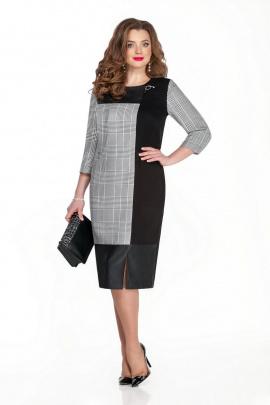 Платье TEZA 321 черный