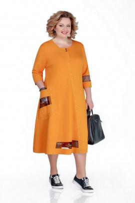 Платье Pretty 1040 желтый