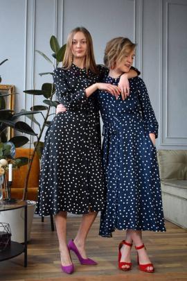 Платье FS 5049 темно-синий