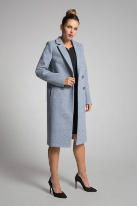 Пальто Gotti 172-12 голубой