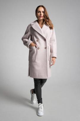 Пальто Gotti 202-1 светло-розовый
