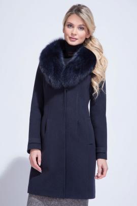 Пальто ElectraStyle НЕШ3у-8137-128 темно-синий