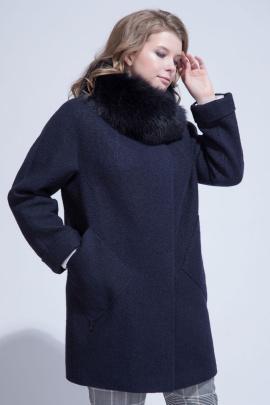 Пальто ElectraStyle НП3у-8114-138 темно-синий
