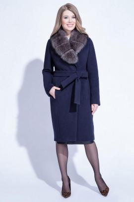 Пальто ElectraStyle НСШР4У-9135м-128 темно-синий