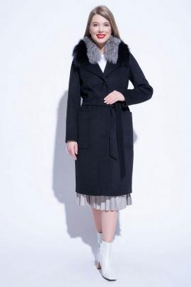 Пальто ElectraStyle НПК3у-6040-128 темно-синий