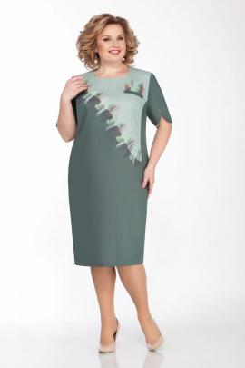 Платье LaKona 1292 морской_зеленый