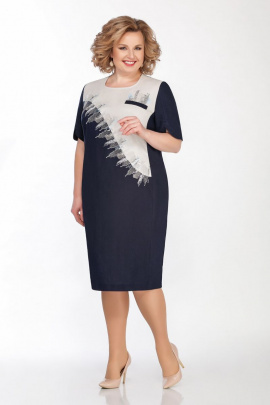Платье LaKona 1292 синий