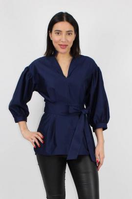 Блуза VLADOR 500633 синий