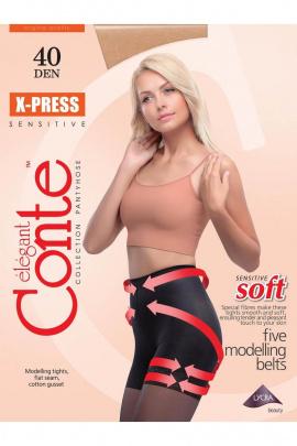 Колготки Conte Elegant X_Press_40_Mocca