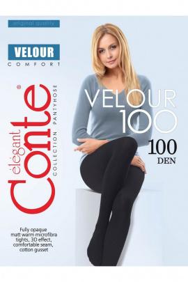 Колготки Conte Elegant Velour_100_Nero