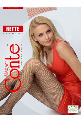 Колготки Conte Elegant Rette_Micro_Nero