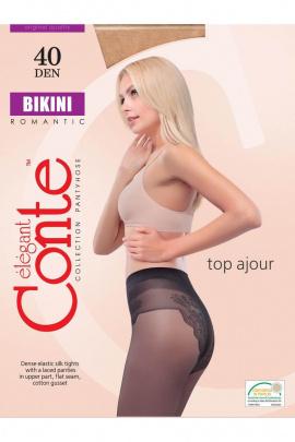 Колготки Conte Elegant Bikini_40_Mocca