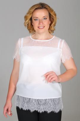 Блуза Медея и К 1850 белый
