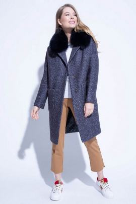 Пальто ElectraStyle НП4у-8023-225 графит