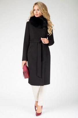 Пальто ElectraStyle НП4У-6048-128 черный