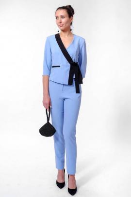 Блуза Nat Max ШБЛ-0115-28 голубой