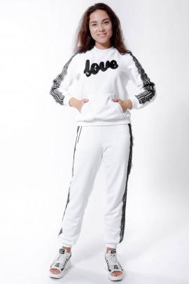 Спортивный костюм Nat Max ШКМ-0113-32 белый