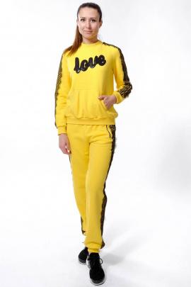 Спортивный костюм Nat Max ШКМ-0113-32 желтый
