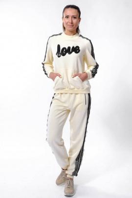 Спортивный костюм Nat Max ШКМ-0113-32 кремовый