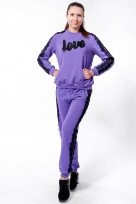 Спортивный костюм Nat Max ШКМ-0113-32 фиолетовый