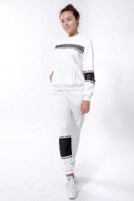 Спортивный костюм Nat Max ШКМ-0114-32 белый