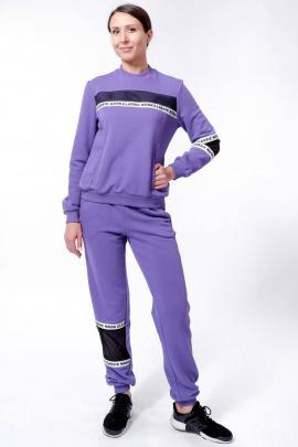 Спортивный костюм Nat Max ШКМ-0114-32 фиолетовый