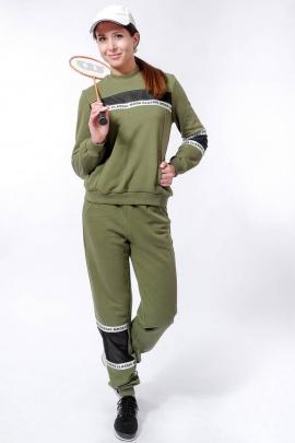 Спортивный костюм Nat Max ШКМ-0114-32 хаки